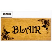 Varied Style Name Plates